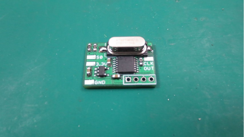 Dual Frequency Oscillator +3.3V