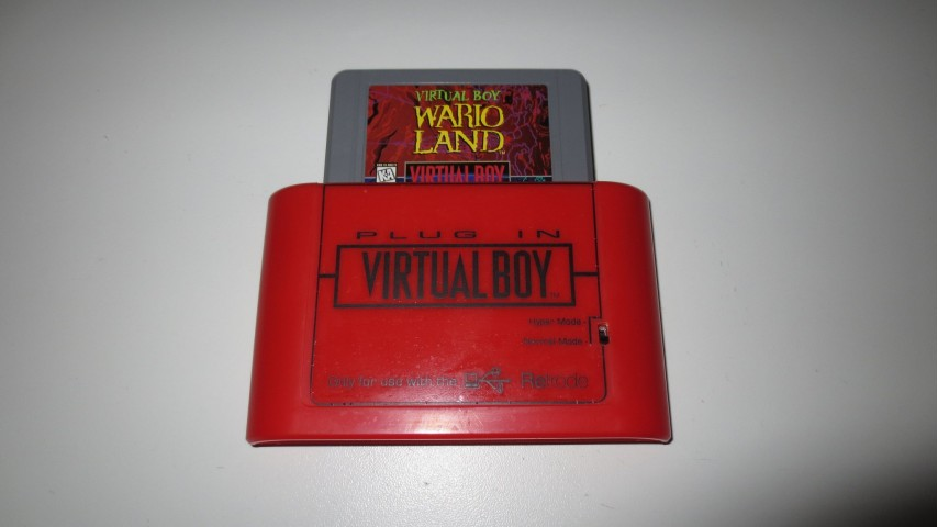 Virtual Boy Plug-In for Retrode 2